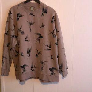 Comfy sweatshirt.